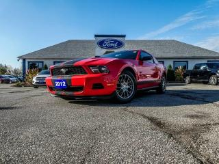 Used 2012 Ford Mustang V6 Premium- LOW KM- GREAT SHAPE - BLUETOOTH for sale in Essex, ON