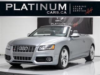Used 2010 Audi S5 3.0T quattro Premium, CABRIO, PREMIUM, NAVI, CAM for sale in Toronto, ON