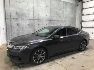 Used 2015 Acura TLX V6 Tech GPS ANGLE MORT CUIR for sale in St-Nicolas, QC