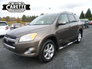 Used 2010 Toyota RAV4 Limited AWD V6 for sale in East broughton, QC