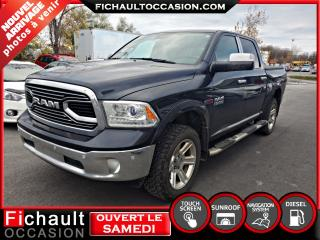 Used 2016 RAM 1500 LONGHORN *** DIESEL*** for sale in Châteauguay, QC