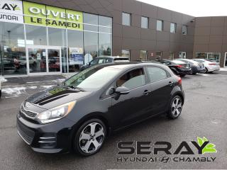 Used 2016 Kia Rio 5dr Auto SX, cuir, camera, volant chauffant for sale in Chambly, QC