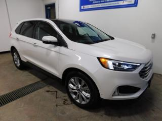 Used 2019 Ford Edge Titanium LEATHER NAVI SUNROOF for sale in Listowel, ON