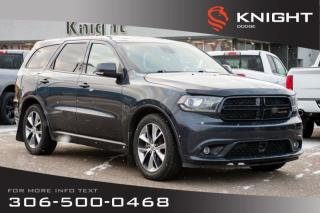 Used 2014 Dodge Durango R/T | Leather | Heated & Cooled Seats | Navigation | for sale in Swift Current, SK