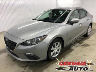 Used 2016 Mazda MAZDA3 GX A/C GPS Caméra de recul Bluetooth for sale in Trois-Rivières, QC