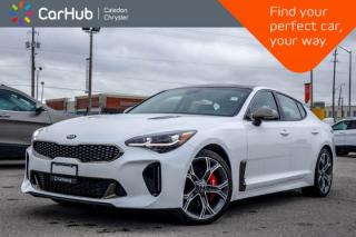 Used 2018 Kia Stinger GT|AWD|Sunroof|Backup Cam|Bluetooth|Blind Spot|Leather|Heated Front Seats|19