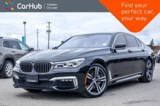 Used 2016 BMW 7 Series 750i xDrive|AWD|Navi|Pano Sunroof|Backup Cam|Bluetooth|Blind Spot|Leather|20
