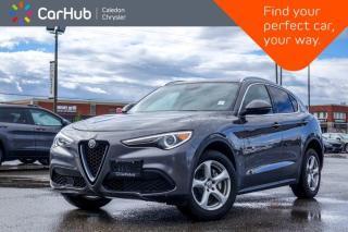 Used 2018 Alfa Romeo Stelvio AWD Backup Camera Bluetooth Remote start Leather Heated Front Seats 18