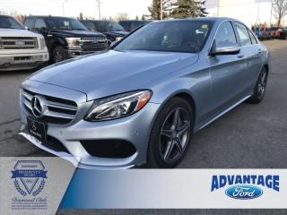 Used 2015 Mercedes-Benz C-Class Leather Heated Seats - Twin Panel Sunroof for sale in Calgary, AB
