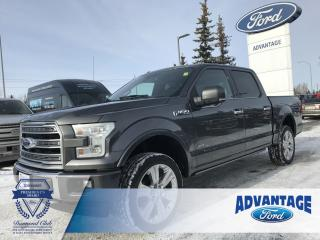 Used 2017 Ford F-150 Limited Clean Carfax - Remote Start for sale in Calgary, AB