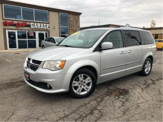 Used 2011 Dodge Grand Caravan Crew | Alloys | Stow N Go | UConnect | Local Trade for sale in St Catharines, ON