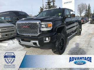 Used 2018 GMC Sierra 3500 HD Denali Clean Carfax - One Owner for sale in Calgary, AB