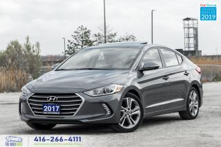 Used 2017 Hyundai Elantra GLS Sunroof CleanCarfax Certified Warranty Finance for sale in Bolton, ON