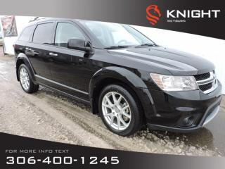 Used 2014 Dodge Journey R/T AWD | Leather Heated Seats | NAV | DVD | Sunroof | Remote Start | 8-Passenger | Family Friendly for sale in Weyburn, SK