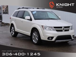 Used 2013 Dodge Journey R/T RALLYE AWD |  3.6L V6 | Leather Heated Seats & Steering Wheel | DVD | Remote Start | Back-up Cam for sale in Weyburn, SK