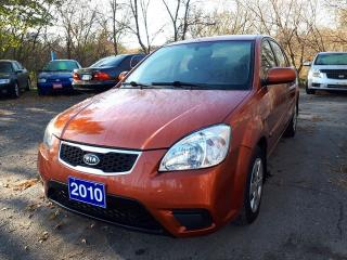 Used 2010 Kia Rio EX Convenience,Certified.Low kms! for sale in Oshawa, ON