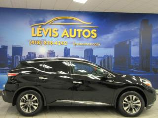 Used 2017 Nissan Murano SL AWD GPS NAVIGATION CAMÉRA 360 TOIT PA for sale in Lévis, QC