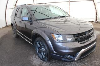Used 2018 Dodge Journey Crossroad 3rd Row, Heated Leather Seats, NAV, DVD for sale in Ottawa, ON