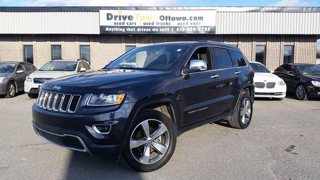2016 Jeep Grand Cherokee LIMITED 4X4 **LEATHER**NAV**MOONROOF**