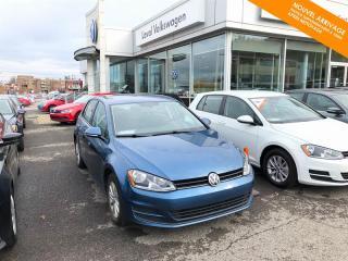 Used 2016 Volkswagen Golf Automatique Trendline 1.8 TSI + Caméra + Bluetooth for sale in Québec, QC