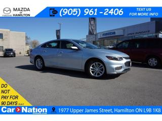 Used 2018 Chevrolet Malibu LT |  REAR CAM | XM RADIO | TOUCH SCREEN for sale in Hamilton, ON