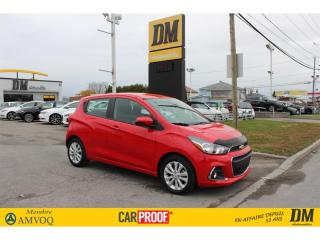 Used 2018 Chevrolet Spark LT  CAMÉRA APPLE/ ANDROID BLUETOOTH MAGS FOG for sale in Salaberry-de-Valleyfield, QC