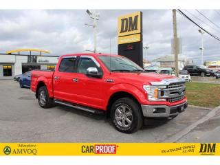 Used 2018 Ford F-150 XLT XTR  4X4  CREW  CAMÉRA  MARCHE-PIEDS for sale in Salaberry-de-Valleyfield, QC