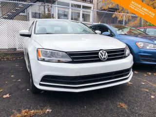 Used 2016 Volkswagen Jetta Automatique Trendline 1.4 TSI + Caméra + Bluetooth for sale in Québec, QC