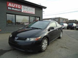 Used 2006 Honda Civic LX for sale in St-Hubert, QC