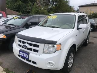 Used 2008 Ford Escape 4WD 4dr V6 Limited for sale in Hamilton, ON