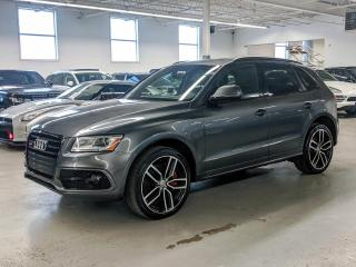 Used 2017 Audi SQ5 SQ5 DYNAMIC EDITION/21 INCH WHEELS/BANG&OULFSEN SOUND/B;IND SPOT! for sale in Toronto, ON