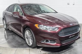 Used 2013 Ford Fusion SE LUXURY ECOBOOST CUIR MAGS NAV TOIT for sale in Île-Perrot, QC