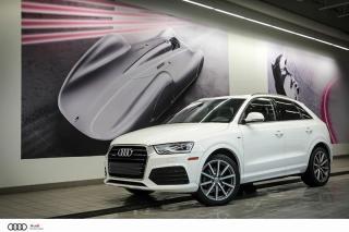 Used 2017 Audi Q3 Progressiv - 2.0 TFSI - QUATTRO AWD for sale in Sherbrooke, QC