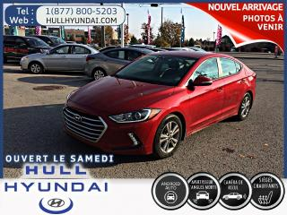 Used 2017 Hyundai Elantra GL, WOW seulement 21 700km! encore garantie! for sale in Gatineau, QC