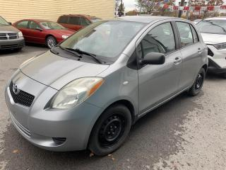 Used 2008 Toyota Yaris hachback A/C for sale in Pointe-Aux-Trembles, QC
