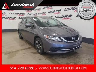 Used 2015 Honda Civic EX|JAMAIS ACCIDENTÉ|| for sale in Montréal, QC