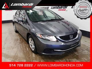 Used 2013 Honda Civic LX|PETIT BUDGET| for sale in Montréal, QC