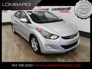 Used 2013 Hyundai Elantra GLS|JAMAIS ACCIDENTÉ| for sale in Montréal, QC