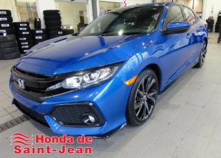 Used 2017 Honda Civic Sport Hatchback Toit Camera Mags for sale in St-Jean-Sur-Richelieu, QC