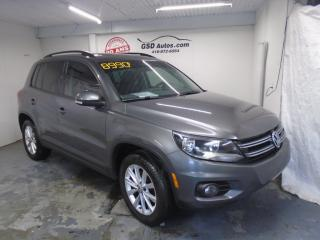 Used 2014 Volkswagen Tiguan Highline for sale in Ancienne Lorette, QC