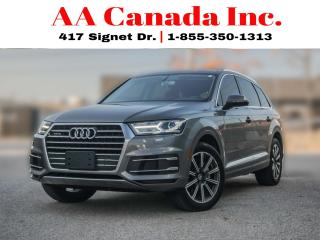 Used 2017 Audi Q7 3.0T |NAVI|PANOROOF|7SEATER| for sale in Toronto, ON