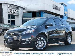 Used 2015 Chevrolet Traverse LT  - Bluetooth -  Heated Seats for sale in Etobicoke, ON