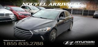 Used 2018 Hyundai Elantra GL + GARANTIE + ANDROID/CARPLAY + CAMERA for sale in Drummondville, QC