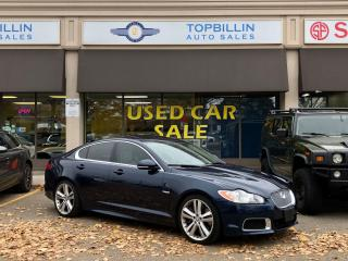 Used 2010 Jaguar XF XFR, Navi, B Cam, Blind Spot for sale in Vaughan, ON