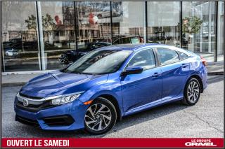 Used 2016 Honda Civic EX - Toit ouvrant - Mags - Caméra - for sale in Ile-des-Soeurs, QC