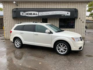 Used 2013 Dodge Journey R/T AWD for sale in Mount Brydges, ON