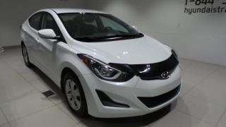 Used 2015 Hyundai Elantra Berline 4 portes, boîte manuelle, L for sale in St-Raymond, QC
