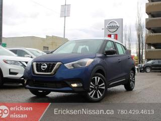 New 2019 Nissan Kicks SR Remote Starter   360 Camera   Blind Spot Warning for sale in Edmonton, AB