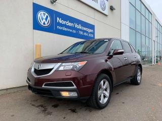 Used 2011 Acura MDX SH-AWD LUXURY PKG! LEATHER + HEATED SEATS for sale in Edmonton, AB