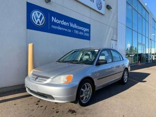 Used 2002 Honda Civic DX-G -5SPD M/T for sale in Edmonton, AB